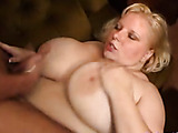 Chubby blonde is fucked