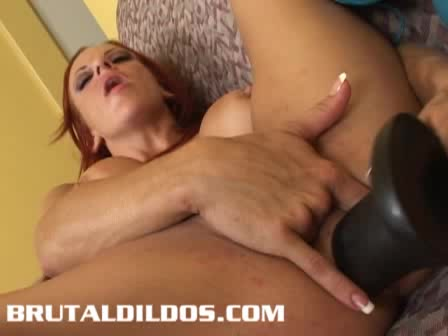 deep long anal dildo