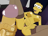 The Simpsons present their hot homemade porn video