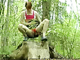 Sitting on a stub..