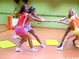 Four 18yo schoolgirls