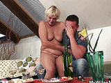 Sensual mother in law fucking