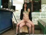 A horny customer