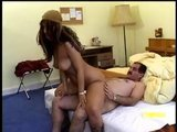 Mature Arab man enjoying