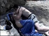 Hot Arab couple enjoying