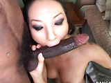 Asa Akira looking for that big black cock