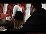 Rough sex with secretary