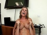 Guy fucks his boss with big tits