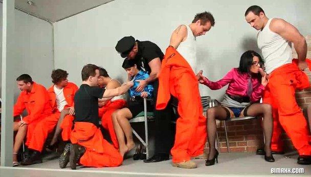 ebony prison porn