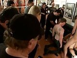 Slut is pounded in a museum
