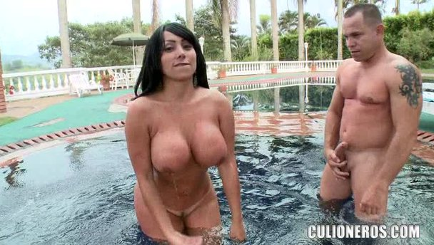 Who big tit pool orgy