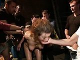 Rough group bondage fucking video