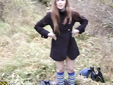 Girl fucked in the cemetery video
