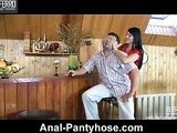 Awesome anal fucking in the country house
