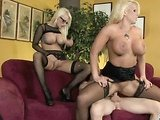 Hot threesome fucking