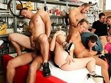 Awesome bisexual orgy