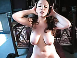 Busty mom and her fucking machine