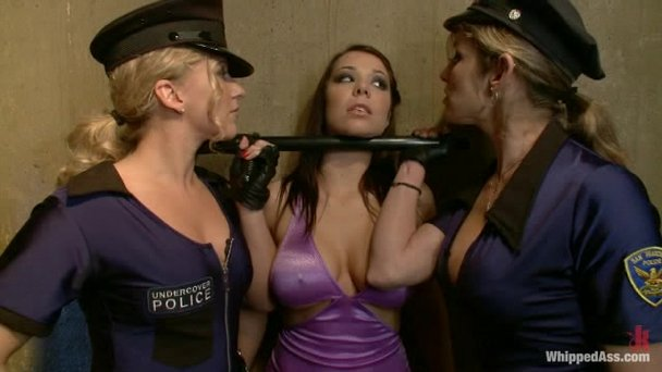 Lez busty cops titties you