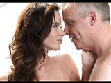 He loves how wet this brunette milf is and fucks her juicy cunt furiously.