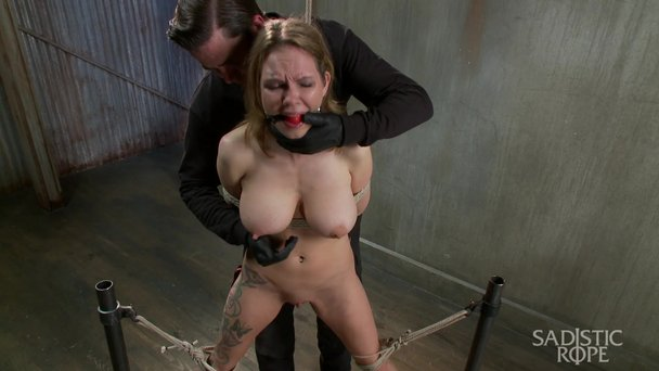 Bdsm penny barber tormented with ice water 8