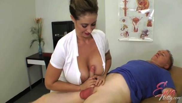 Asian Nurse gives handjob