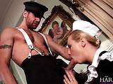 Domestic crew enjoys hard anal group banging