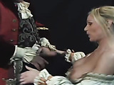 Hot retro fuck action! Sweet blonde babe is deepthroating long dick and getting fucked