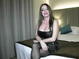 Giant tittied whore fucks dude with a cock ring and squirts